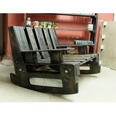 Кресло-качалка из поддонов