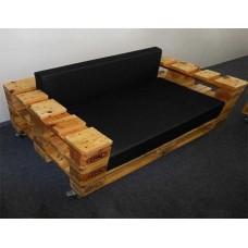 Кресло из поддонов 7