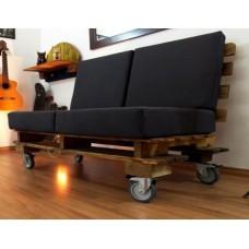 Кресло из поддонов 2