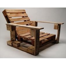 Кресло из поддонов 1